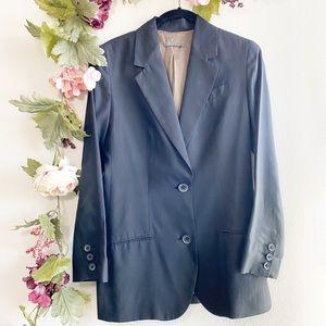 Vince Bemberg Black Boyfriend Blazer Jacket